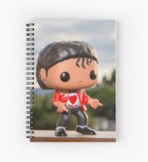 MJ says, Beat it. Spiral Notebook
