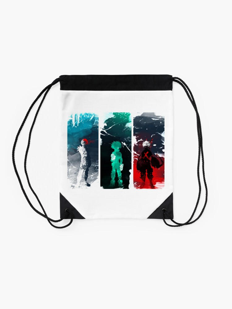 Alternate view of What's your power? Drawstring Bag