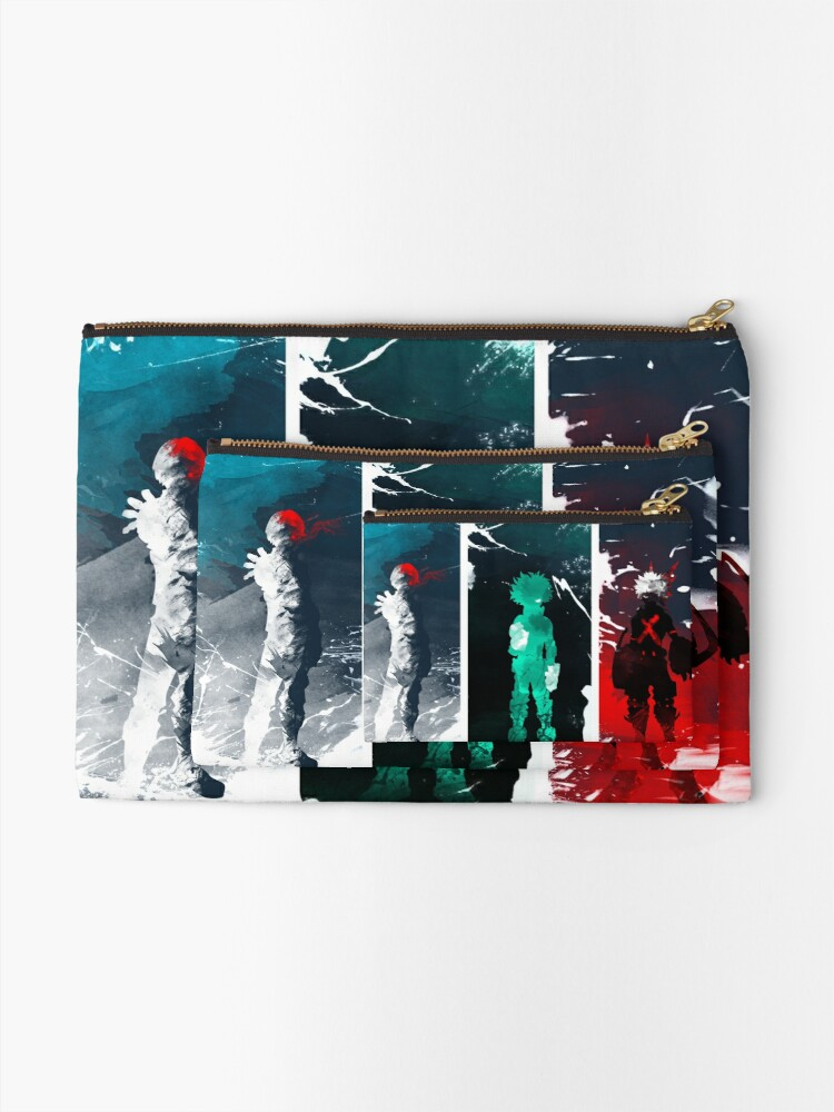Alternate view of What's your power? (white versione) Zipper Pouch