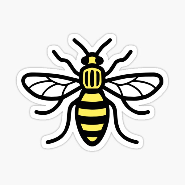 MANCHESTER WORKER BEE Sticker