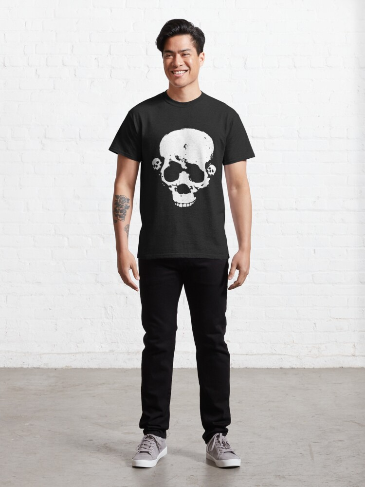 Alternate view of Skull Face Classic T-Shirt