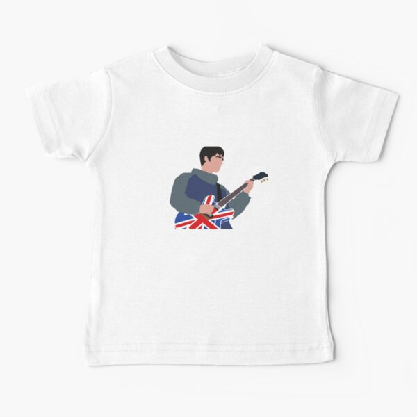 Noel Gallagher Oasis Minimalist Design Baby T-Shirt