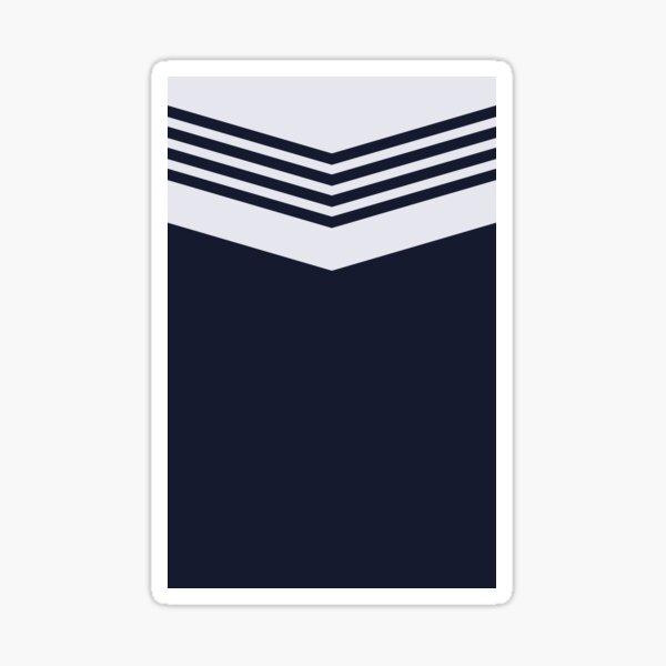 Tottenham 1978 Navy and White Sticker