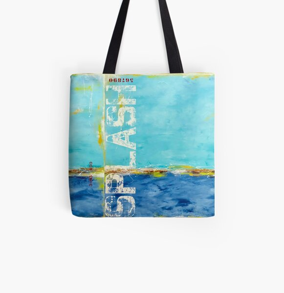 Summer Splash All Over Print Tote Bag