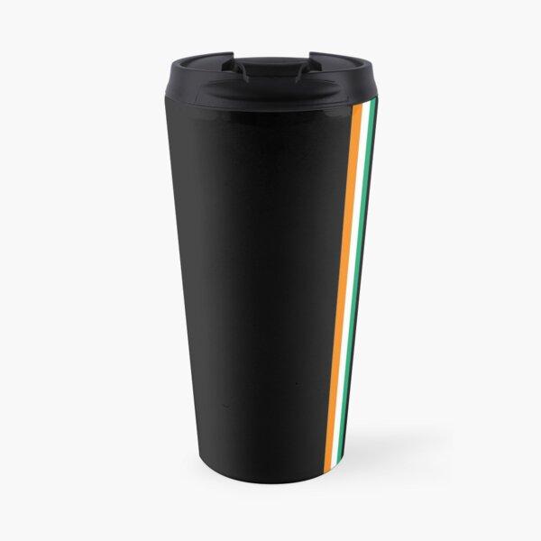Côte d'Ivoire Flag Minimalist Travel Mug