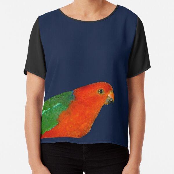 Australian King-Parrot Chiffon Top