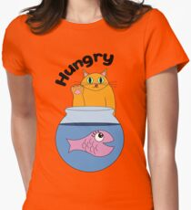 Hungry Women's Fitted T-Shirt