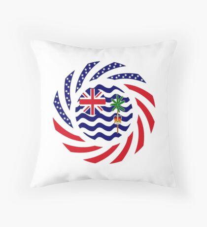 British Indian American Multinational Patriot Series Throw Pillow