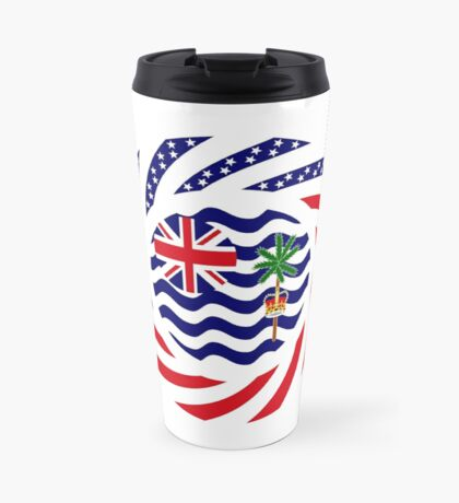 British Indian American Multinational Patriot Series Travel Mug