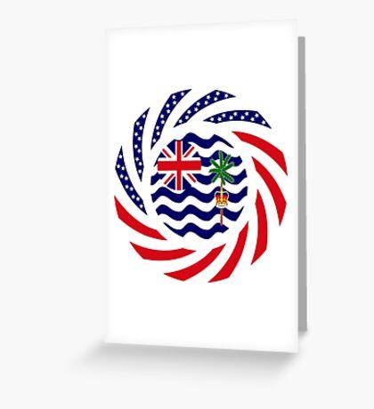 British Indian American Multinational Patriot Series Greeting Card