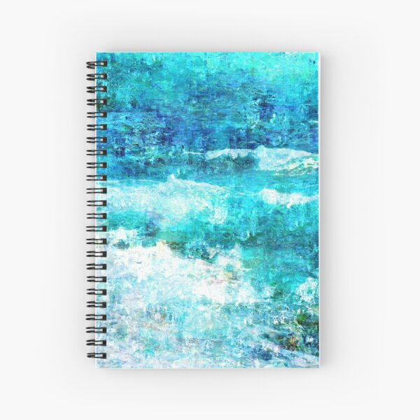 Ask The Waves Spiral Notebook
