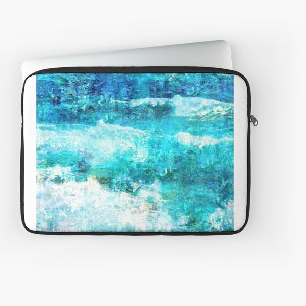Ask The Waves Laptop Sleeve