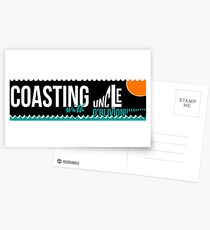 Coasting Sticker Postcards