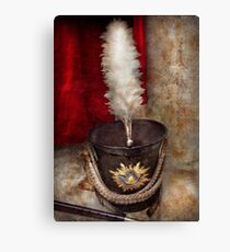 Americana - Celebrating the Marching band Canvas Print