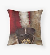 Americana - Celebrating the Marching band Throw Pillow