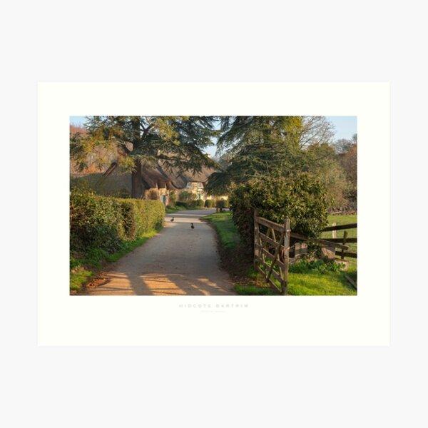 Hidcote Bartrim Art Print