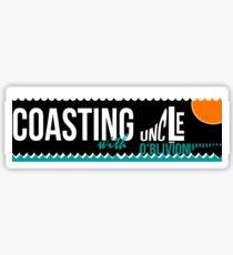 Coasting Sticker Sticker