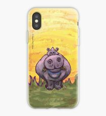 Tierparade Hippopotamus iPhone-Hülle & Cover