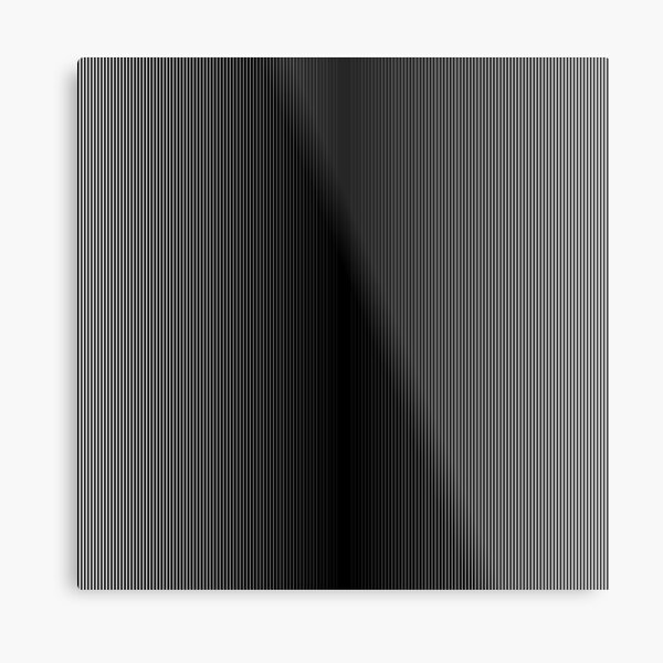 #Op #Art, #Symmetry, #Parallel, Geometry, Colorfulness, Architecture, Monochrome, Darkness, Pattern, Design, Repetition Metal Print