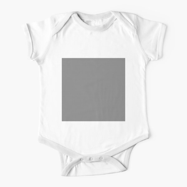 #Op #Art, #Symmetry, #Parallel, Geometry, Colorfulness, Architecture, Monochrome, Darkness, Pattern, Design, Repetition Short Sleeve Baby One-Piece