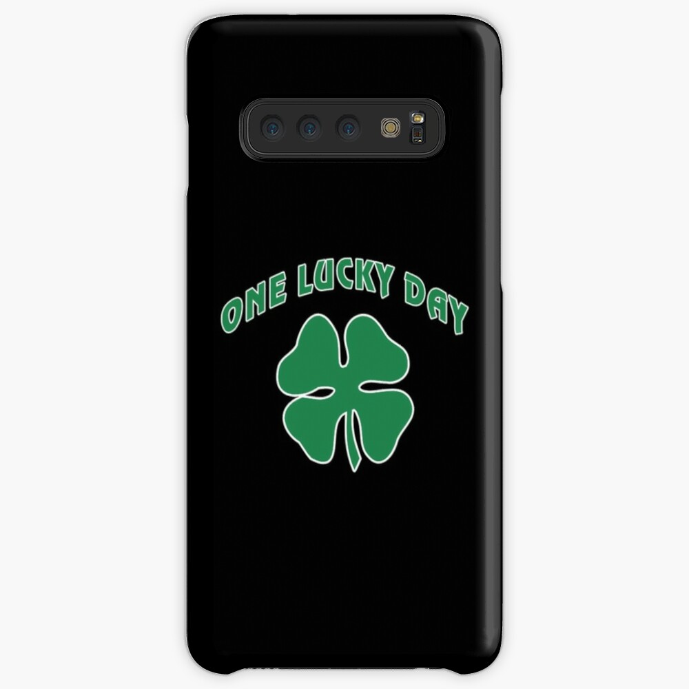 St Patrick's, One Lucky Day. Case & Skin for Samsung Galaxy