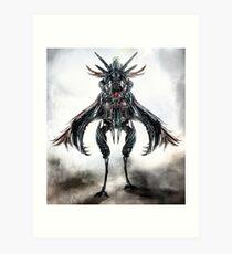 mounted creature Art Print
