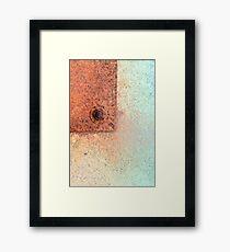 Metal Dispersion Framed Print