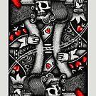 «Rey de los corazones muertos - Poker» de Garyck Arntzen