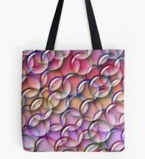 A Rainbow of Bubbles Tote Bag