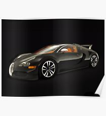 Bugatti ~ Veyron Poster