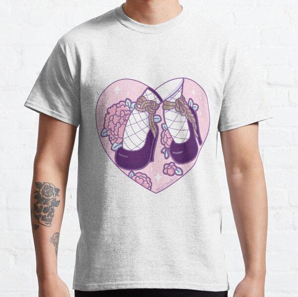 Zapatos rosa shibari Camiseta clásica