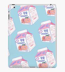 Vinilo o funda para iPad Cartón de leche de durazno