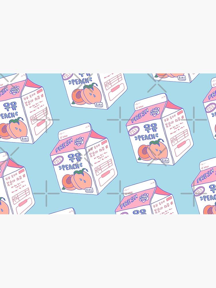 Peach Milk Carton by LauraOConnor
