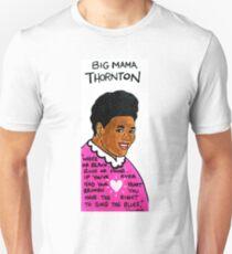 Big Mama Thornton Blues Folk Art T-Shirt