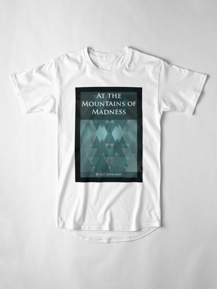 T-shirt long ''At the Mountains of Madness' : autre vue