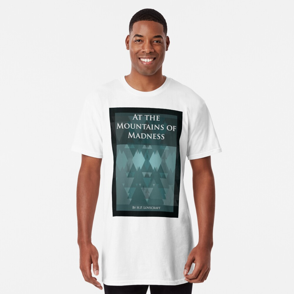 T-shirt long « At the Mountains of Madness»