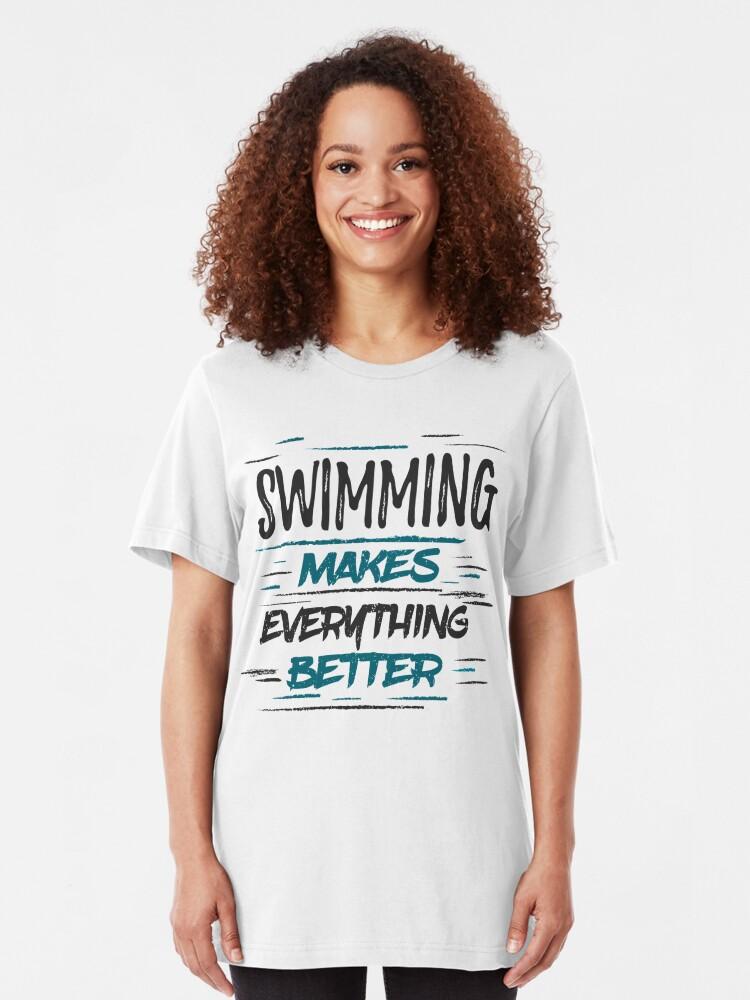 Diver Swim Kids // Childrens T-Shirt I/'d Rather Be Swimming Swimmer