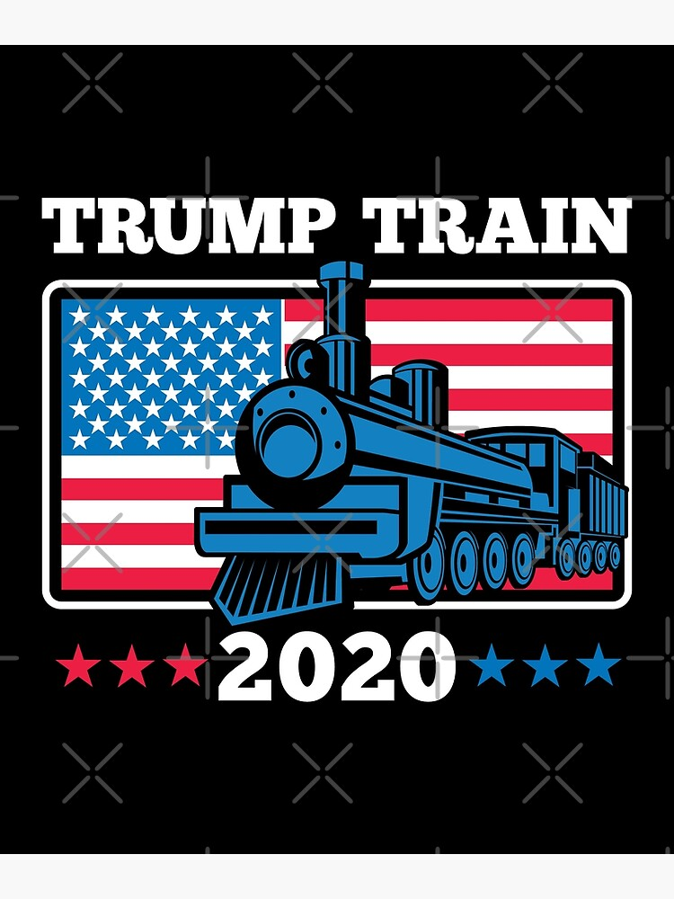 Trump Train 2020 Postcard By Brian60174 Redbubble