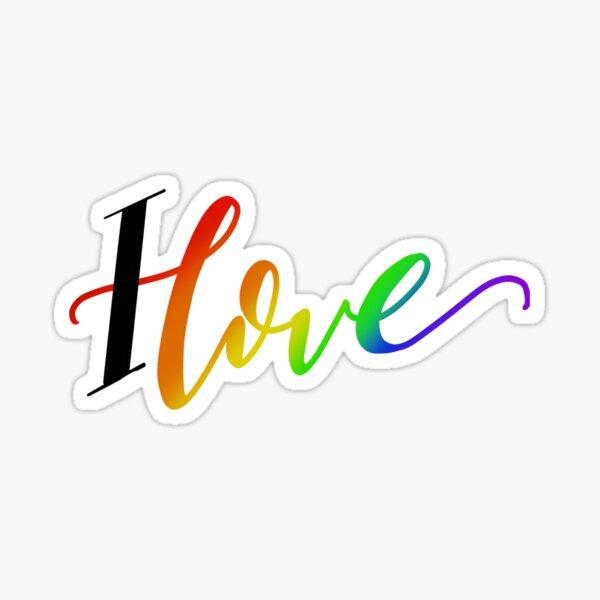 I Love - Pride  Sticker
