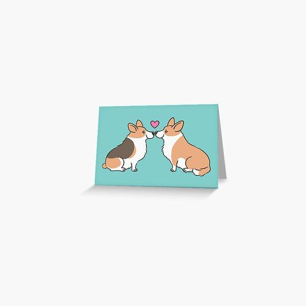 Corgi Love Greeting Card