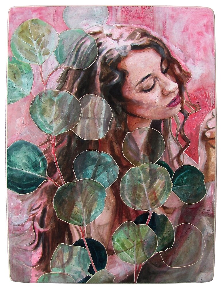 Eucalyptus Being by Elizabeth D'Angelo