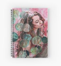 Eucalyptus Being Spiral Notebook