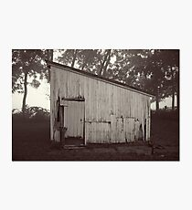 Wood Shed Photographic Print