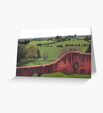 Kennilworth Castle, England Greeting Card
