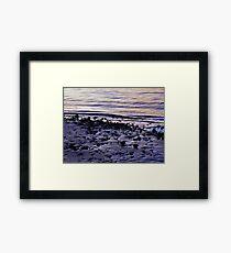Wet Beach Framed Print