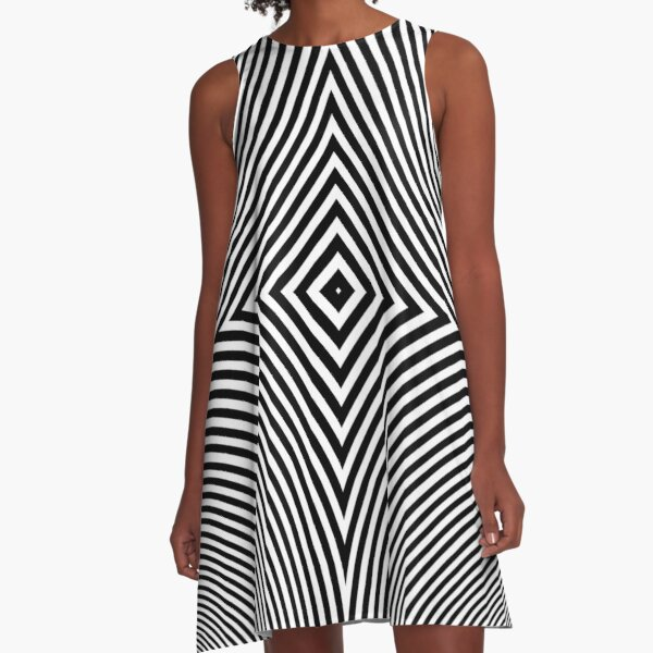 #Hypnosis #Hypnotic Image #HypnosisImage #HypnoticImage A-Line Dress