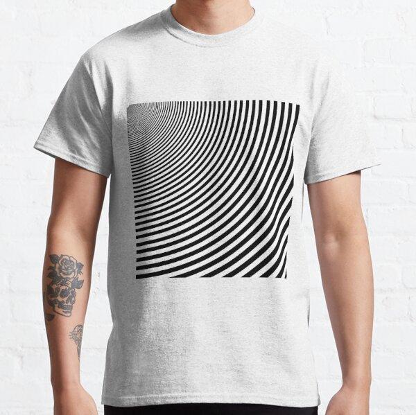 #Design, #abstract, #pattern, #illustration, psychedelic, vortex, modern, art, decoration Classic T-Shirt