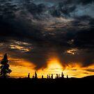 Alaskan Sunset by akaurora