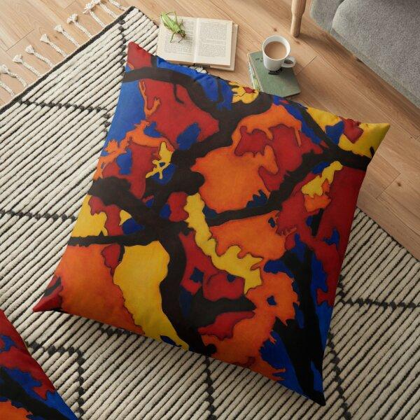 Down Fall Floor Pillow