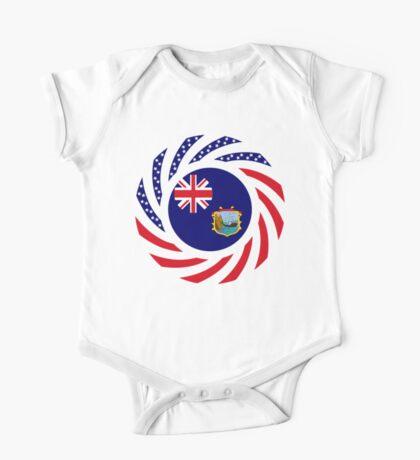 Saint Helena American Multinational Patriot Flag Series Kids Clothes